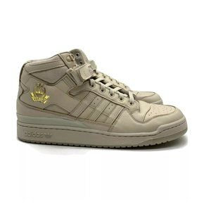 New Adidas X Forum LDRS Mid Brown Gold Sneakers 7